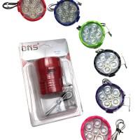 Lampu tembak Motor 6 LED flash 4245 Merek ONS