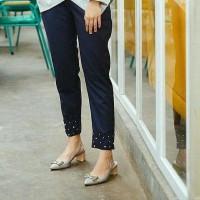 Basic pearl pants / pakaian wanita / celana panjang / grosir pakaian