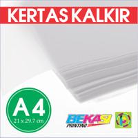 Kertas Kalkir 80 Gram Ukuran A4 (21 x 29.7 cm) - C@lcir Tracing Paper