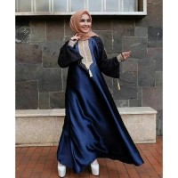 Jual Abaya Dubai Jala/Best Seller Abaya Dubai/ Gamis Pesta Muslim Murah