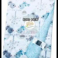 Selimut Carter Double Fleece\U002F Selimut Bayi Carter - Owl Kancil