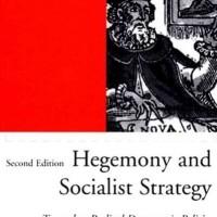 Hegemony and Socialist Strategy - Ernesto Laclau (Philosophy/ Theory)
