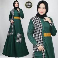JAMILAH DRESS AJ / Gamis Syari / Baju Muslim / Dress Murah