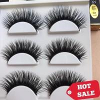 352d437d827 3 Pairs Sexy False Eyelashes Cute & Glam | Bulu Mata Palsu Mink 3D