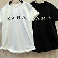 Baju Wanita Kaos Copy Zara