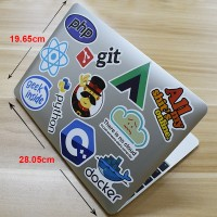 SET STIKER IT PHP HTML JAVA KOMPUTER LAPTOP NOTEBOOK 50 PCS LUCU DIY