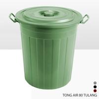 tong Air / Ember Timba Tutup Hijau 80 Liter