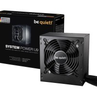 be quiet! SYSTEM POWER U9 600W - 80+ Bronze Certified - 3 Years