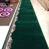 Karpet Masjid 12m Import Turki Termahal Terbaik Warna Hijau - THHS