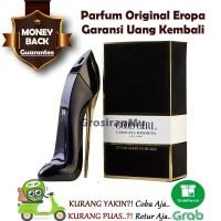 Parfum Wanita Original Carolina Herrera CH Good Girl Sepatu Heels Or