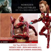 Hot Toys AVENGERS INFINITY WAR - IRON MAN MARK 50 L ACCESSORIES SET