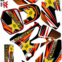 Decal / Sticker / Striping Fullbody Variasi YZ 85 Lama / YZ 85 Old