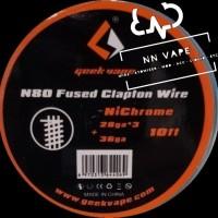 Geek Vape Ni80 Fused Clapton Wire 28GA*3+36GA Nichrome GeekVape