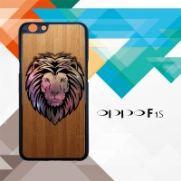 lion vector face galaxy Z3648 Casing HP Oppo F1s Custom Case Cover