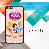 disney princess L0459 Casing HP Oppo F1s Custom Case Cover