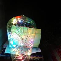 Lampu edison botol kecil rgb