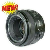 Lensa Fix Yongnuo 50mm f1.8 YN50mm untuk Kamera Nikon