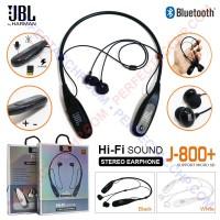 HANDSFREE / HEADPHONE / EARPHONE / HEADSET BLUETOOTH JBL J-800 + SLOT