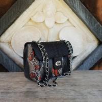 Classic Chain Phyton Bag (Tas Kulit Ular asli)  3fa6b25d2c