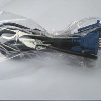 Kabel VGA Standar LED LCD TV Monitor Mesin Universal Laptop PC 1.4m