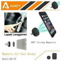 Aukey Magnetic Car Holder HD - C5 (nempel di kisi AC mobil) Surabaya
