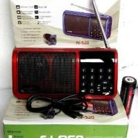 Radio Digital Am Fm Sw Rodja Speaker Al quran Alquran USB Flashdisk