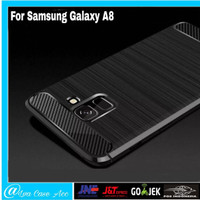 Samsung Galaxy A8 2018 Case Hard Casing Slim BackCase Hp And Cover