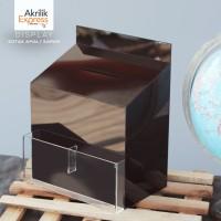 kotak amal n2 /' kotak kepuasan / kotak saran / kotak akrilik