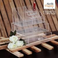 Tempat Kosmetik Akrilik E6 / tempat kosmetik acrylic / display akrilik