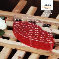 Tempat Lipstik Akrilik E1 / display kosmetik / tempat kosmetik akrilik