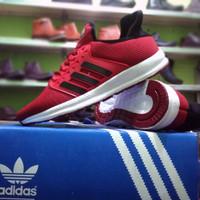 Sepatu Adidas Running Sport Premium Merah