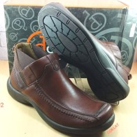 Sepatu kulit asli pria DONATELLO 102