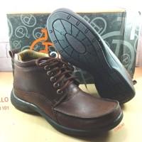 Sepatu kulit laki laki DONATELLO 101