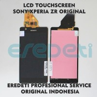 Spare part HP Terbaik - LCD TOUCHSCREEN SONY XPERIA ZR C5502 C5503