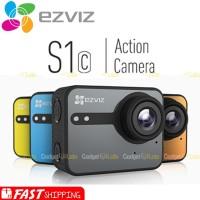 Produk keren EZVIZ S1C Waterproof Action Camera FULL HD Touch Screen L