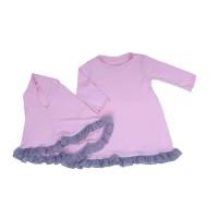 TDLR PINKY HIJAB BABY Wear Pakaian Bayi Perempuan T 3205