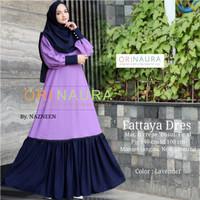 Gamis Polos Dress Muslim FATTAYA Ori NR