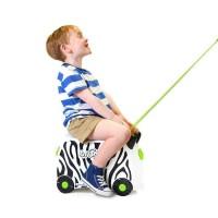 Trunki Luggage Zimba The Zebra Tas Koper Anak