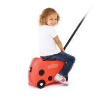 Trunki Luggage Ladybug (Harley) Tas Koper Anak