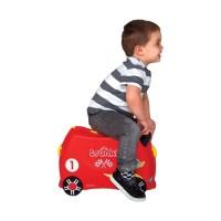 Trunki Luggage Race Car Tas Koper Anak