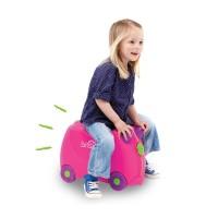 Trunki Luggage Trixie Tas Koper Anak - Pink