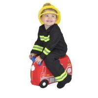 Trunki Luggage Fire Engine Frank Tas Koper Anak