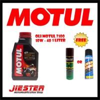 PROMO Oli Motul 7100 10W - 40 1 Liter Free Chain Cleaner WD
