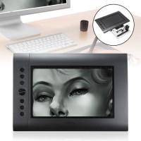 USB Tablet Luas Lebar Besar Desain Grafis & Pen U/ PC Laptop Komputer