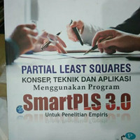 SMART PLS (Partial Least Squares) 3.0. Imam ghozali. non CD