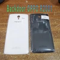 Original Backdoor OPPO R2001 - Tutup Belakang Hp - Case Casing Cover