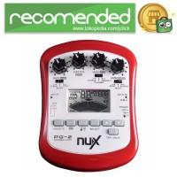 NUX Pedal Efek Gitar Portable Pre-Amp 6 Modulation - PG-2 - Merah