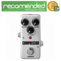 KOKKO Kompresor Pedal Efek Gitar True Bypass - CFP2 - Silver