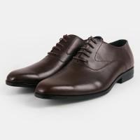 Sepatu Pria Oxford Allure Classic Brown Heiden Shoes