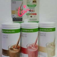 Paket 1 Bulan ( 3 Shake ) # Herbalife# Herbal life # Susu Diet